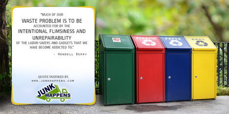 A Quotography on the Root Causes of the Waste Problem | Infographic Collection | Scoop.it