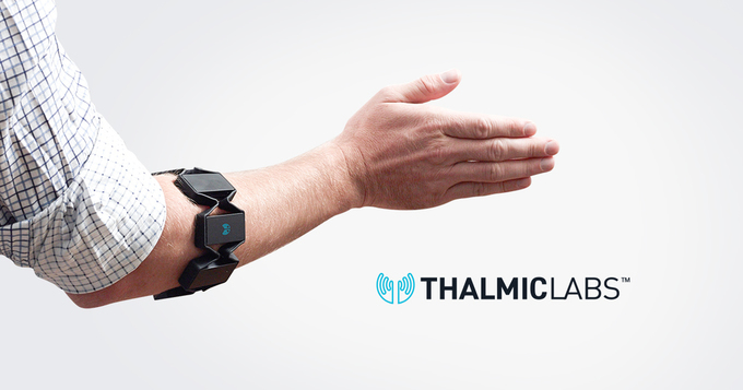 Myo Armband - Gesture Control Armband by Thalmic Labs // Your muscles talk, the Myo armband listens