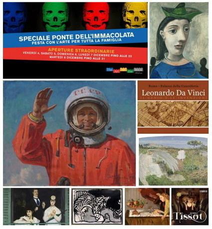 Mostre a Roma: gli orari delle festività invernali 2015/2016 Luoghi vari - Romeguide: i migliori eventi a Roma | ROME, my city | Scoop.it