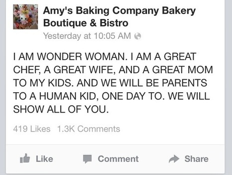 A lesson in social media from Amy's Baking Company | Internet Marketing Tips | Scoop.it