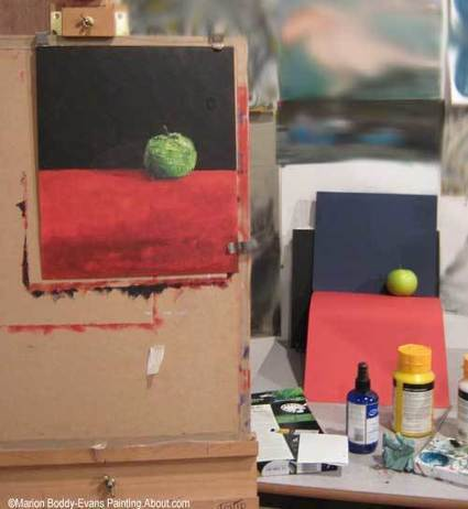 Painting a Realistic Apple | Drawing and Painting Tutorials | Scoop.it