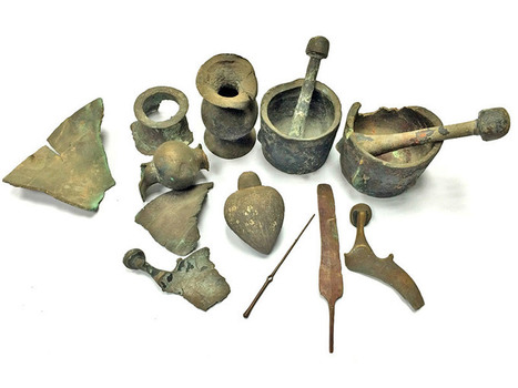 Metal Artifacts Recovered in Israel - Archaeology Magazine   Archaeo   Scoop.it
