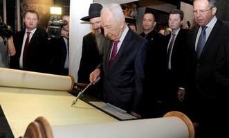 Shimon Peres inaugure avec émotion un musée juif à Moscou | RCJ | Am Israël Hai | Scoop.it