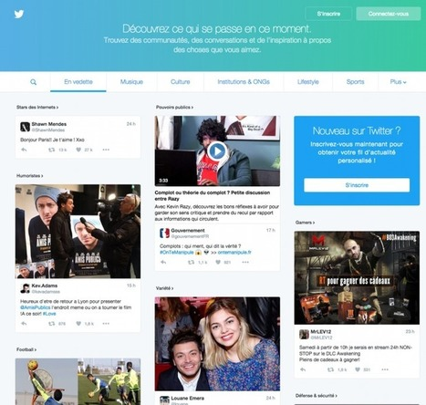 Les dernières fonctionnalités social-média pour le Community Manager au 8 février 2016   Nouveaux Media et Tech mobile   Scoop.it