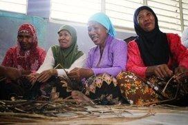 Women empowered through PAMANA:handicrafts project using water hyacinths growing in Liguasan Marsh   Yellow Boat Social Entrepreneurism   Scoop.it