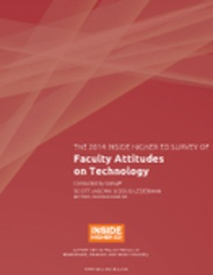 Online Ed Skepticism and Self-Sufficiency: Survey of Faculty Views on Technology @insidehighered | Higher Education in the Future | Scoop.it