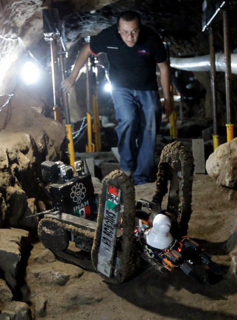 Mini-robot finds surprise in Mexico's ancient Temple of Quetzalcoatl - NBCNews.com (blog) | rakarekodamadama | Scoop.it