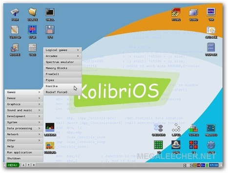 KolibriOS - A Complete GUI Operating-System Sizing ~ 6 MB And Boots In Less Than 10 Seconds | Curated Hottest Technology Articles From All Across The Web | Scoop.it
