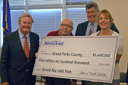 Funding launches work on North Dakota's Grand Sky UAS park - UAS Magazine - UAS Magazine   phenotyping   Scoop.it
