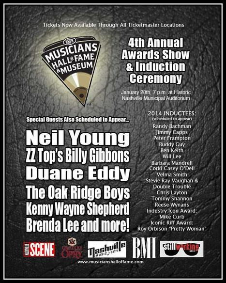 Neil Young, Billy Gibbons, Brenda Lee and Others to Appear at ... | music | Scoop.it