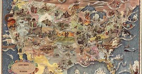 Bohrod's America, its history | Fantastic Maps | Scoop.it