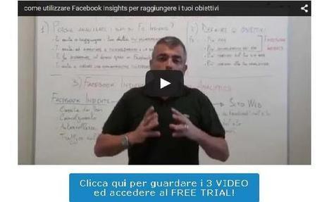 News | [3 Video + Free Trial] Come utilizzare Facebook Insights per aumentare i tuoi potenziali clienti | Imprenditore Italiano | Web Marketing Italiano | Scoop.it