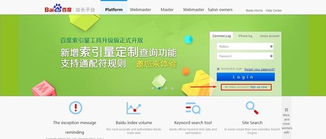 How to Submit Your Website to Baidu Webmaster Tools - Pro Blog Tricks | Social Media | Scoop.it