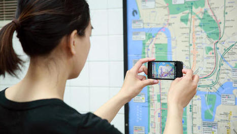 App Turns NYC Subway Maps Into Interactive Data Visualizations | Monde géonumérique | Scoop.it