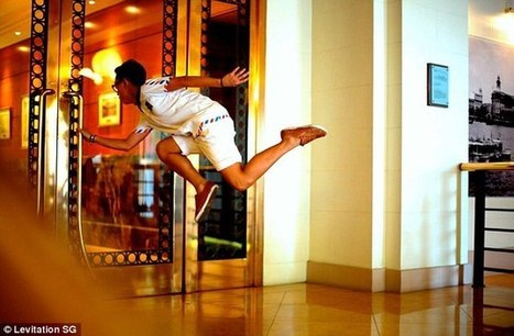 Amazing 'levitating' pictures: Singapore students Jeff Cheong and ... | Singapore Education [News] | Scoop.it