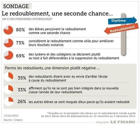 Les jeunes Français attachés au redoublement | SAUVER LA FRANCE | Scoop.it