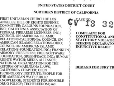Unitarians, Gun Lovers, and Pot Advocates Sue the NSA Over Spying Program | STAND | Scoop.it