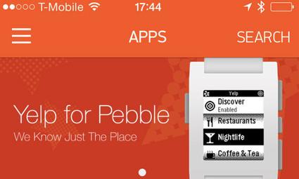 Pebble : la boutique d'apps sera lancée lundi   MyDTree - Innovation News   Scoop.it