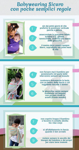 9 semplici regole per un Babywearing sicuro e gratificante | Maternità EcoNaturale | Scoop.it