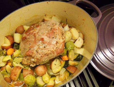 Herbed Pork Roast With Seasonal Summer Vegetables | Annie Haven | Haven Brand | Scoop.it