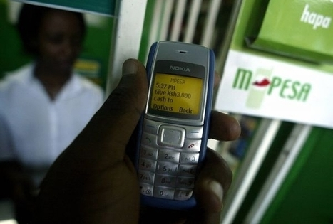 "Un système de ""paiement mobile"" inventé au Kenya à la conquête de l'Europe 