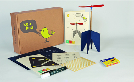 La start-up du jour : Koa Koa, des box éducatives conçues par des designers pour les enfants | FrenchWeb.fr | Digital Tech & Innovation | Scoop.it