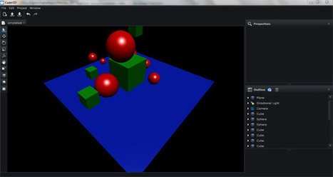 Playing with Citrus, Cadet Editor 3D and AwayPhysics - Emanuele Feronato | Everything about Flash | Scoop.it