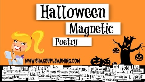 Halloween Magnetic Poetry with Google Drawings! | Digital Storytelling Tools, Apps and Ideas | Scoop.it