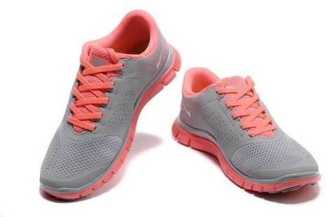 Nike Free 4.0 V2 Womens Neon Pink Grey UK Best Deals 2014 | nike free pink | Scoop.it