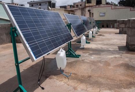 Des trackers solaires à eau | Maison ossature bois écologique | Scoop.it
