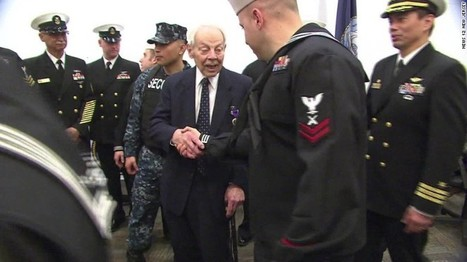 WWII veteran awarded Purple Heart 70 years after battle - CNN.com   This Gives Me Hope   Scoop.it