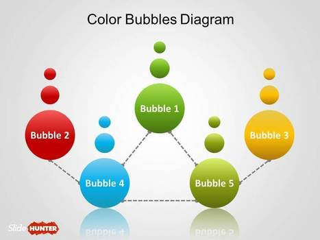 Free Simple Bubbles Diagram for PowerPoint | Diagrams | Scoop.it