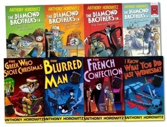 The Diamond Brothers Detective Agency Collection Anthony Horowitz 8 Books Set | Books | Scoop.it