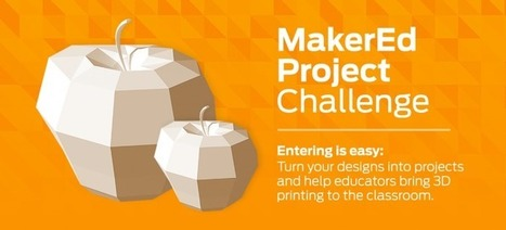 MakerBot Thingiverse Launches #MakerEd Challenge | iPads in Education | Scoop.it
