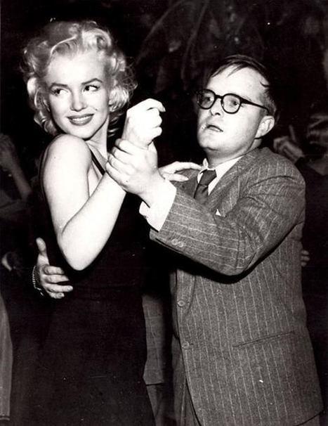 Marilyn Monroe  et Truman Capote dansant à NY, El Morocco club, 1955 | Exposition photos | Scoop.it