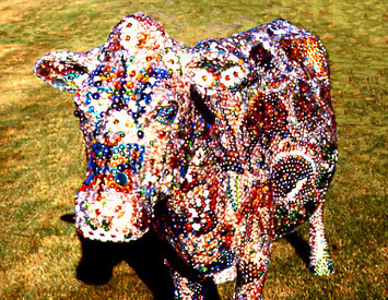 "The Art Of Herb Sellin -> ZOOMOO2000 The Grandest ""Royal Bovine of the Millennium. 