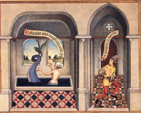 Légendes médiévales : Mélusine | Les Héros Oubliés - Ressources documentaires | Scoop.it