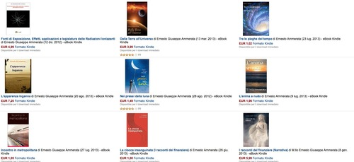 Raccolta ebook Kindle