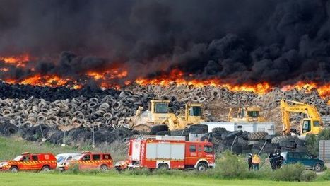 Fire in dump tires near Spanish city of Sesena   The Univers News - Latest Online News   Scoop.it