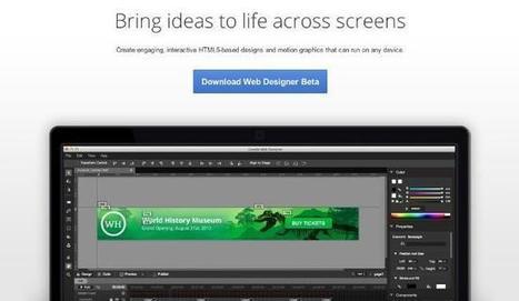 Google lanza Web Designer, su propia aplicación para crear anuncios con HTML5 | herramientas | Scoop.it