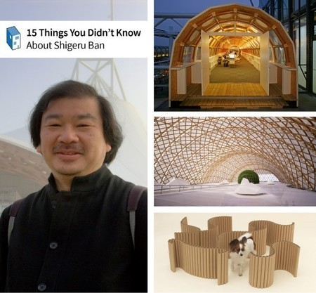2014 Pritzker Prize: 15 Things You Didn't Know About Shigeru Ban | The Architecture of the City | Scoop.it