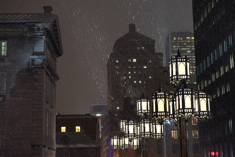 Old Montreal - outside with the XE-1 at night | Alan Bulley | Fuji X-Pro1 | Scoop.it
