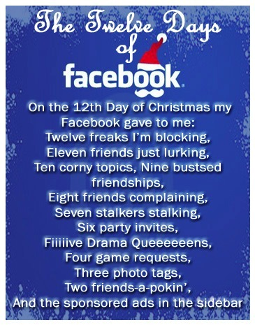The 12 Days of Facebook... Clean up and Customize Facebook with the safe, free and top rated FB Purity browser add-on.