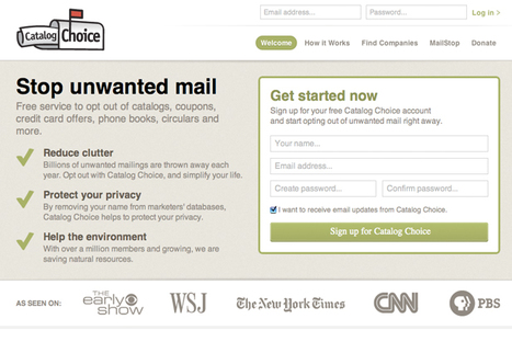 9 Digital Tools to Reduce Your Junk Mail | Time to Learn | Scoop.it
