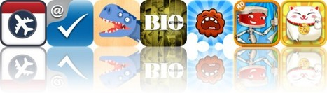 Today's Apps Gone Free: Flight2Cal, Affix, Piece Me Dinosaurs And More - AppAdvice   math apps for kids   Scoop.it