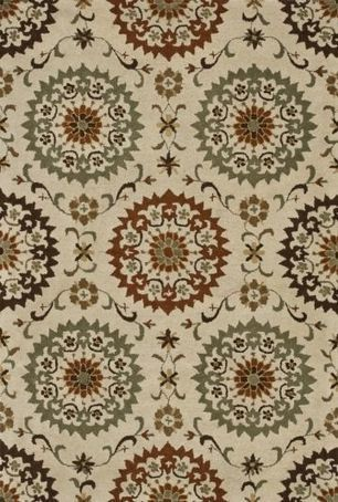 Loloi FAIRFIELD HFF-15 Ivory - Sage - Traditional | Traditional Area Rugs | Scoop.it