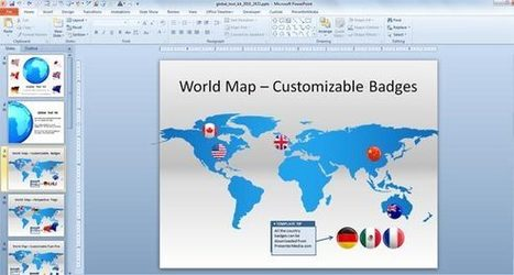 Make Awesome Global Presentations with Global PowerPoint Template Toolkit | PowerPoint Presentation | Social Media and Network Analysis | Scoop.it