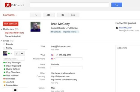 How to Scan Business Cards into Gmail | web learning | Scoop.it