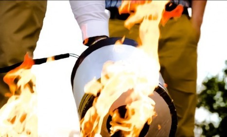 New fire-fighting solution uses sound waves to put out fire | art&science | Scoop.it