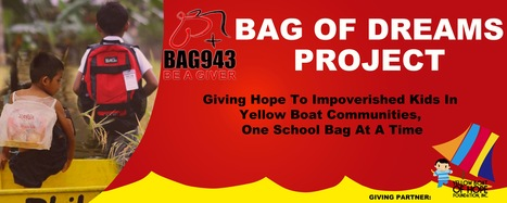 BAG943 (Be A Giver) partners with Yellow Boat of Hope Foundation | Yellow Boat Social Entrepreneurism | Scoop.it